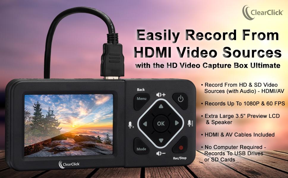 HDMI Yakalama Kutusu Ultimate