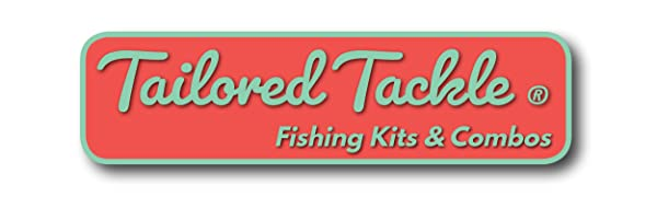 tailored tackle ice fishing kit lures jigs rod reel combo pole