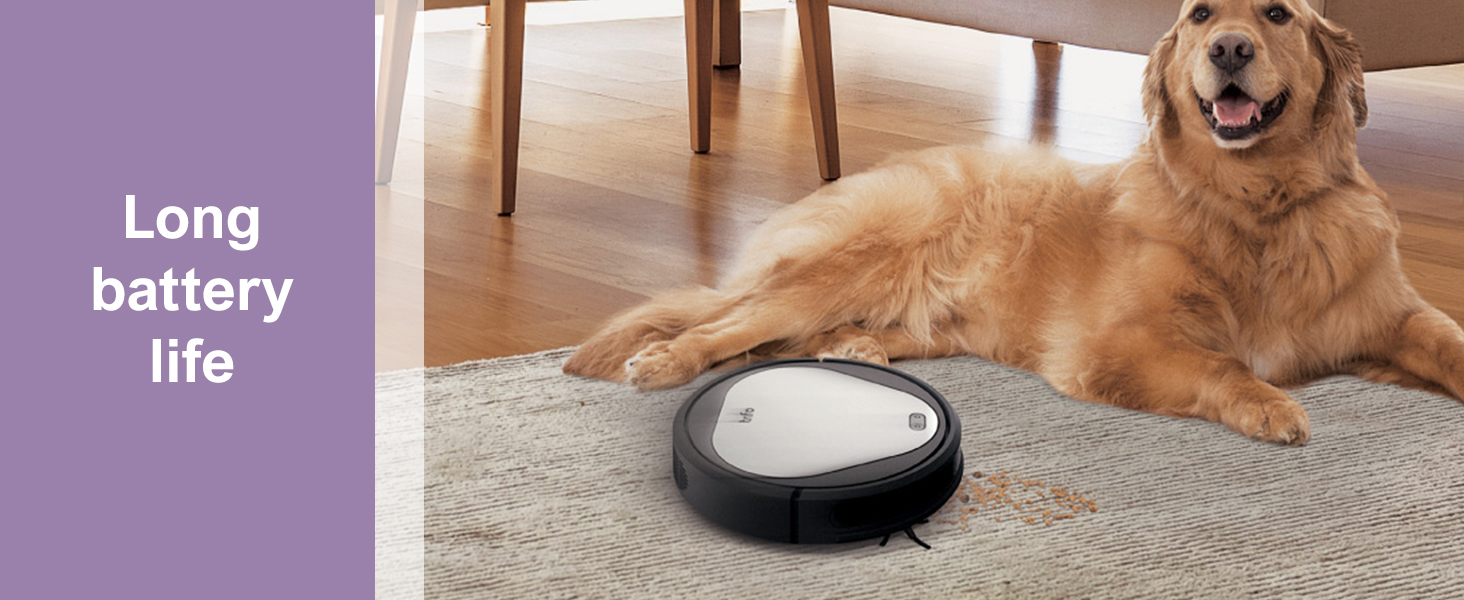 long battery life hoover with pet