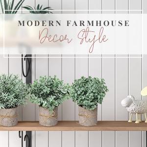 farmhouse bedroom decor house decorations living room rosemary plant white decor greenery decor