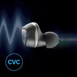 earbuds with cvc noise cancellation