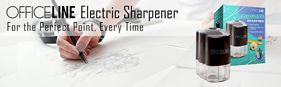 OfficeLine electric sharpener for the perfect point, every time.