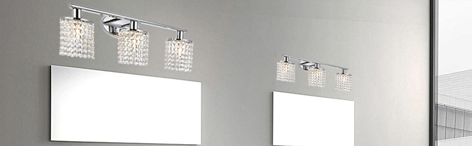 bathroom over mirror ,vanity or entryway wall light