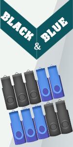 JBOS Flash drives Thumb drives 10 pack