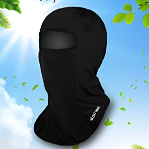 Sun UV protection face mask dustproof neck gaiter headwear lycra face cover breathable cool