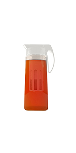 pitcher,infuser,fruit infuser,water pitcher,fruit infusion pitcher,infuser pitcher,tea infuser