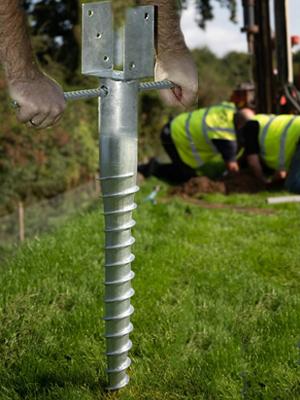 The ground screw