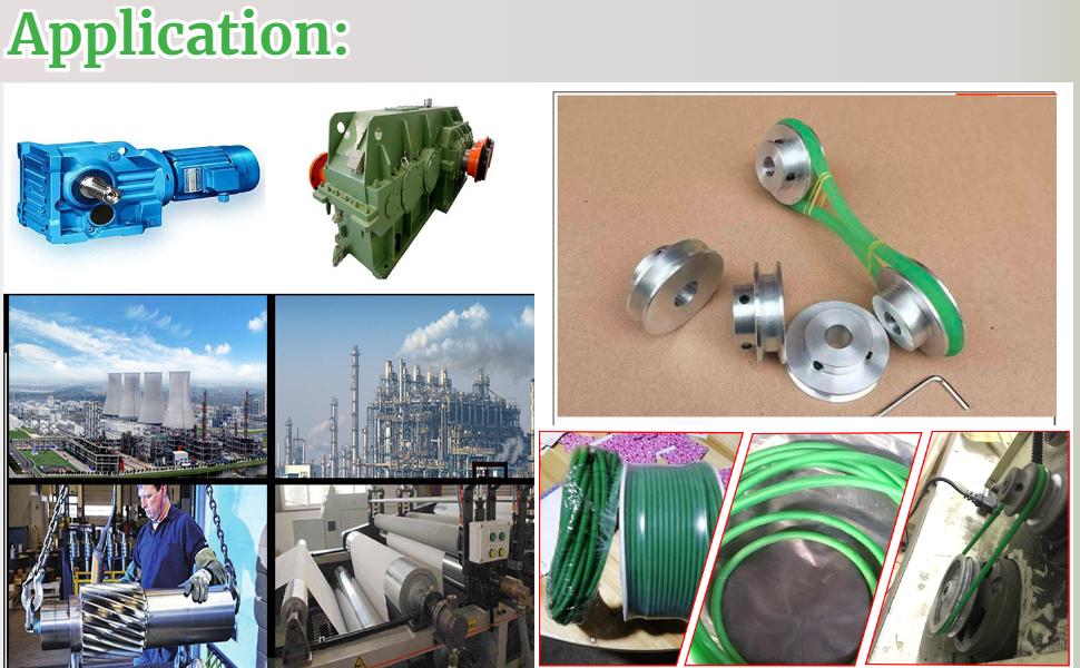 Urethane Belting Green for Conveyor Bonding Machine Dryer