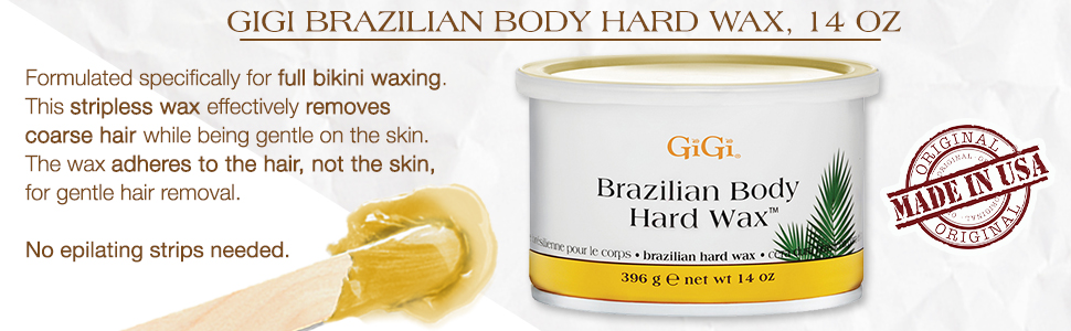 Amazon Com Gigi Brazilian Body Hard Wax For Sensitive Areas 14