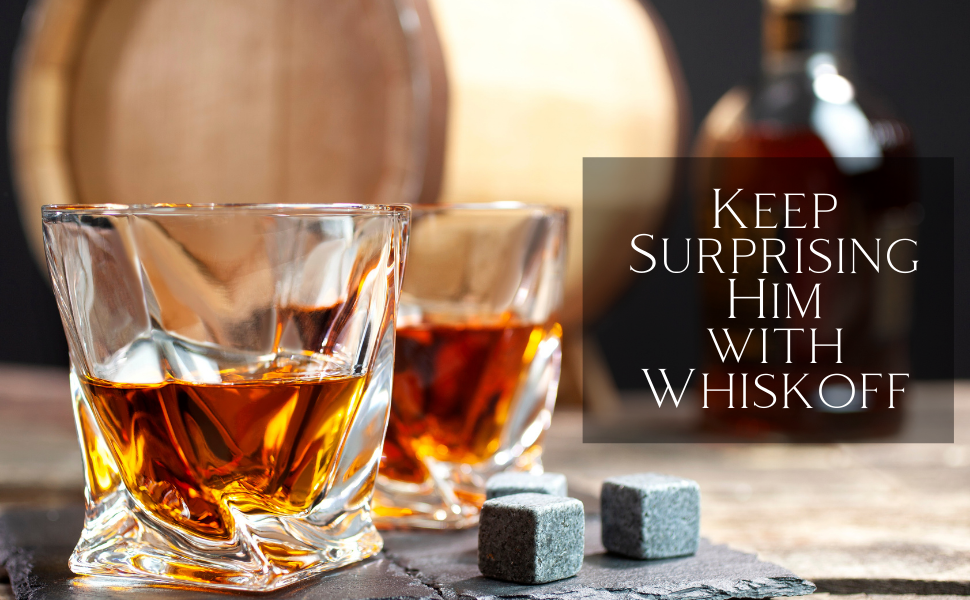 Elegant and Unique whiskey glasses