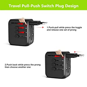 Pull-Push Switch