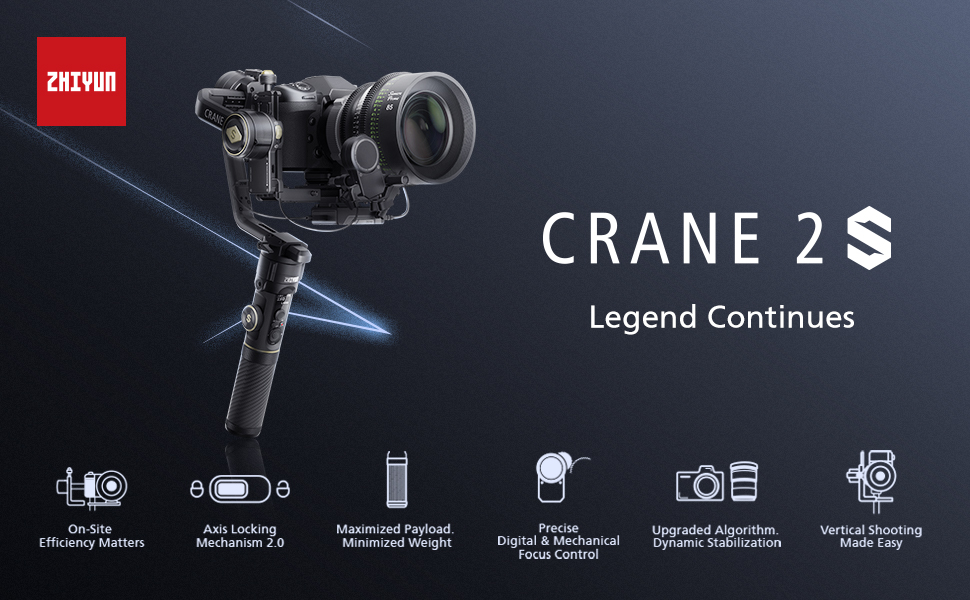 zhiyun crane 2s