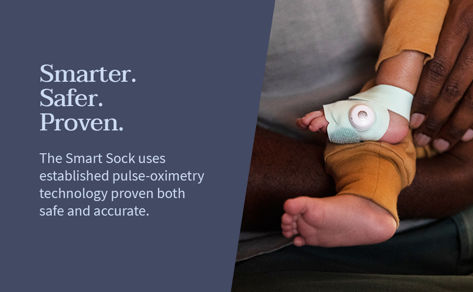 Owlet Smart Sock is safer, smarter and proven.