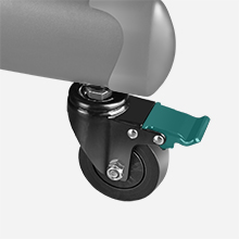 Lockable Caster Wheels