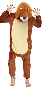 Lion Onesie for Adult