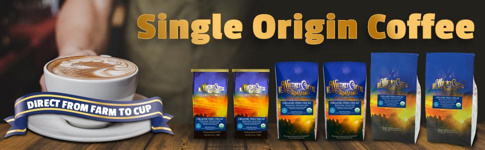 Organic Swiss Water Decaf Coffee from Peru