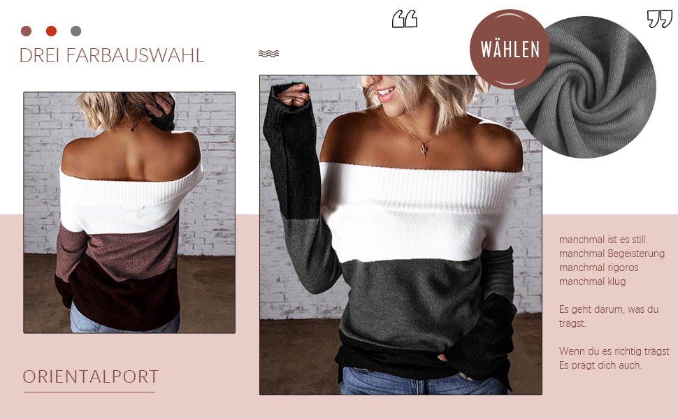 Elegante pullover