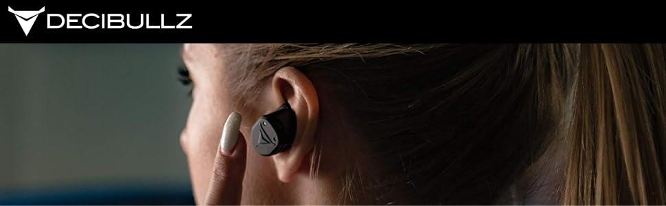 Decibullz Custom Molded True Wireless Earphones