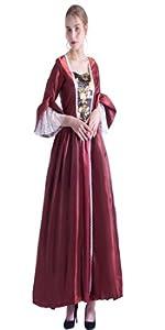 BAROQUE ROCOCO DRESS