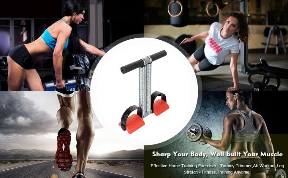 Double Single Spring Tummy Trimmer