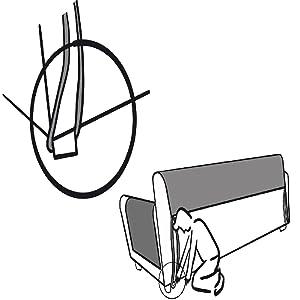 Schonbezug Stuhlschutz