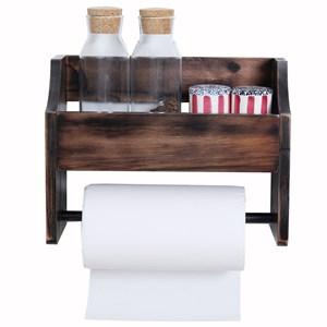 wooden toilet paper roll holder