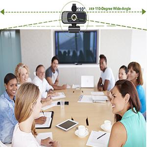 AutoFocus 1080P Webcam