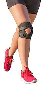 short exercise knee brace
