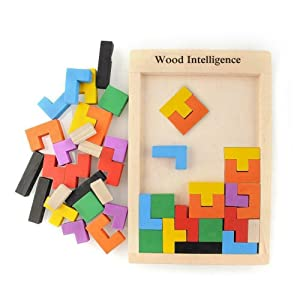 Brain Teasers Toy Russian build Blocks Game