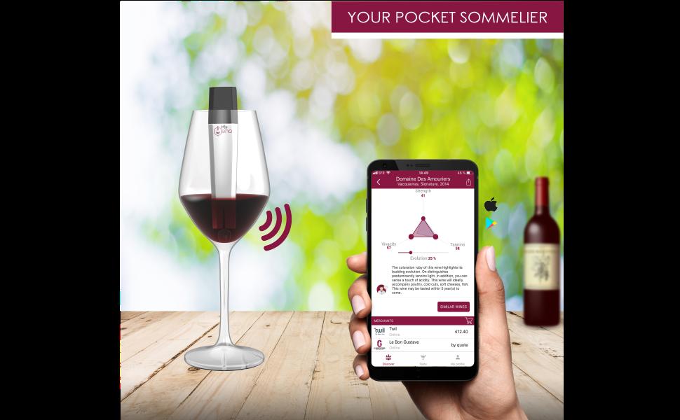 red wine, myoeno, wine scanner, wine app
