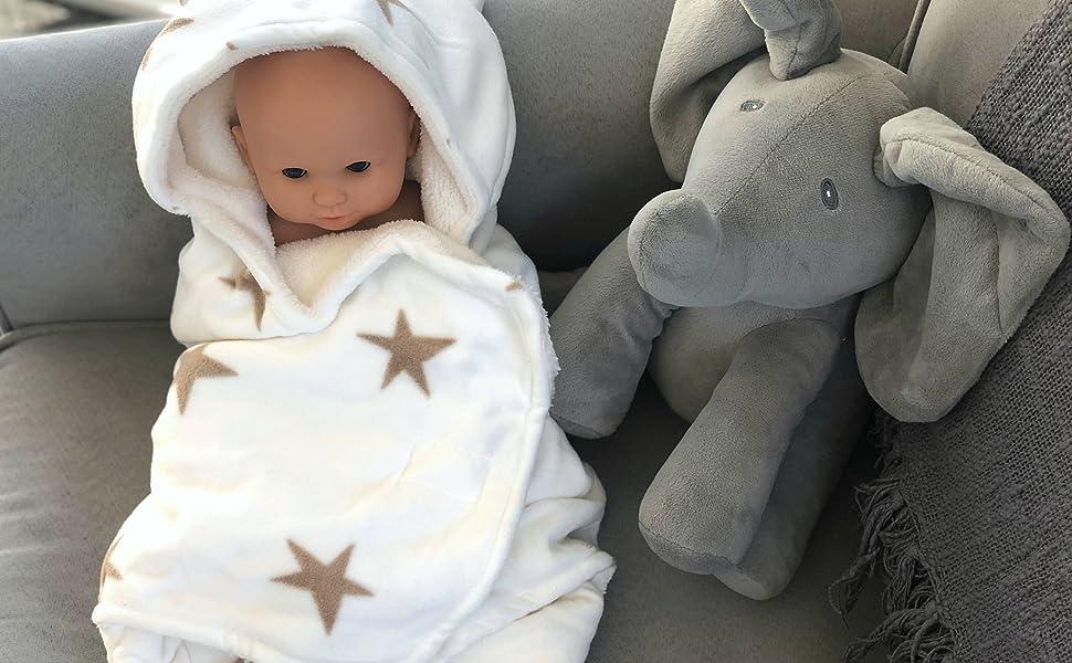 Eco Baby Planet swaddle blanket
