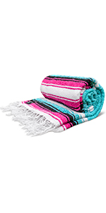 mexican blanket hand woven
