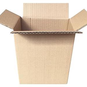Cajeando | Pack de 20 Cajas de Cartón de Canal Simple | Tamaño 18 ...