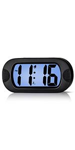 Silicone Digital Alarm Clock