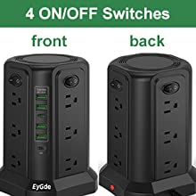 4 Independent Switches