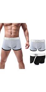 Mens Underwear Sports Boxer