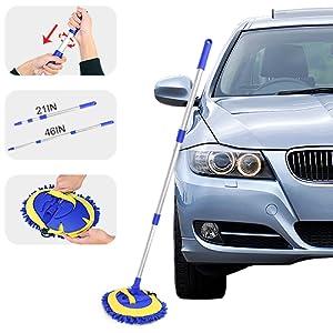 microfiber chenille car wash mitts