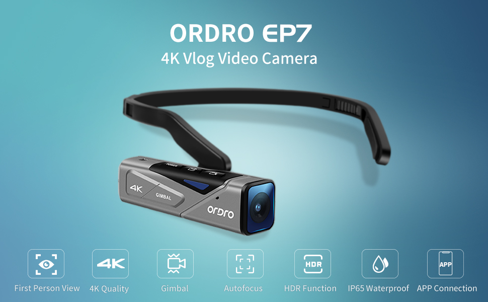 4k vlog camera