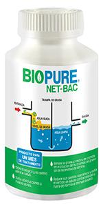 netbac, biopure, bacterias