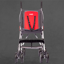 Larger size of Mobiquip elise special needs stroller