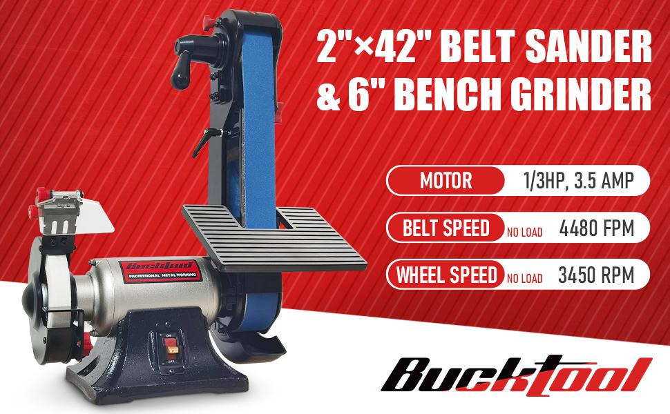 Belt Sander and Bench Grinder