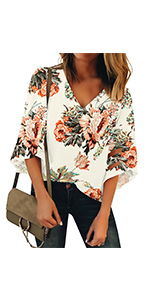 v neck top summer casual tops womens tops women top and blouse