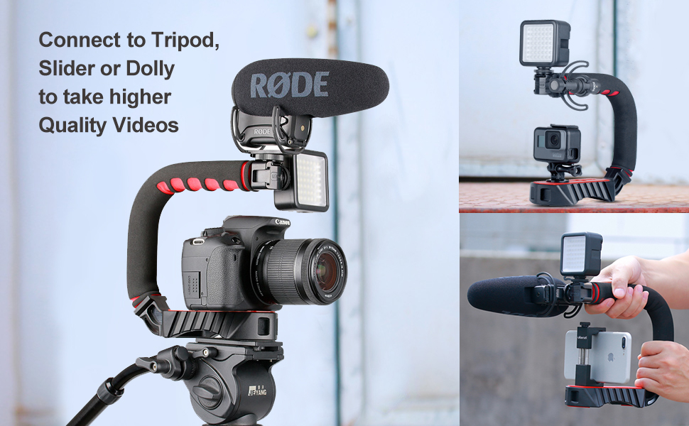 camera video rig handle grip