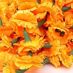 Marigold Flower Decoration For Wedding  from m.media-amazon.com