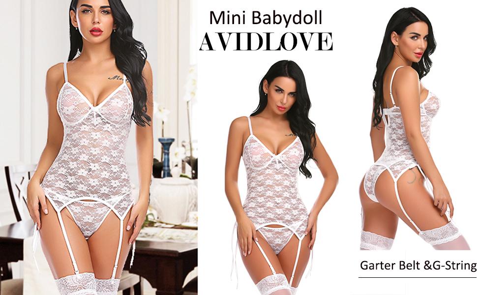 white lingerie set