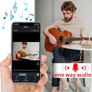 one way audio