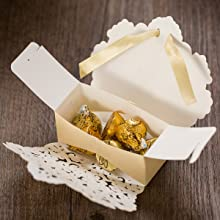 Lace Candy Boxes