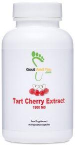 Tart Cherry Extract Uric Acid Supplement