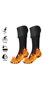 heatted socks