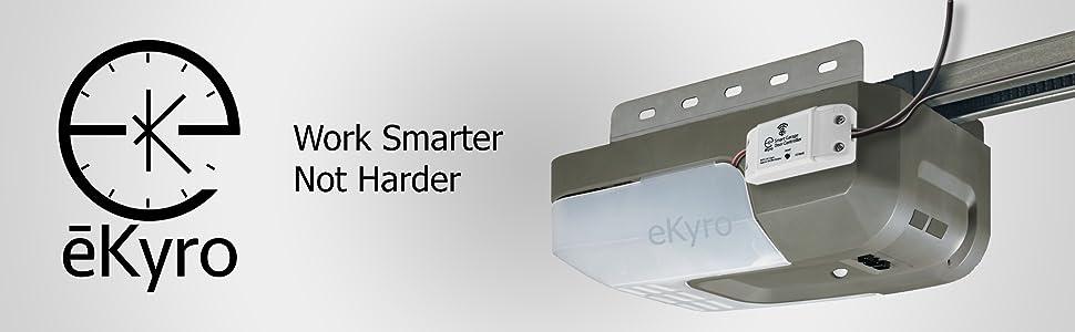 mounted garage door intelligent wifi switch controller magnetic sensor 120v 240v 110v 220v american
